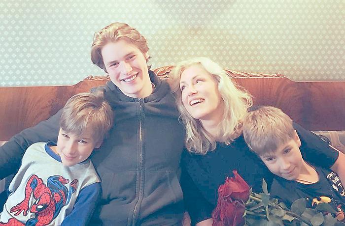 Кроме дочери, которая уже подарила Марии внука, у актрисы есть трое сыновей