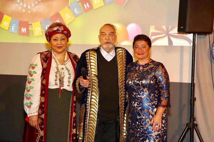 Алексей Петренко за три до смерти - вместе со своей женой и супругой Эммануила Виторгана
