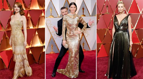 Оскар 2017 лучшие платья