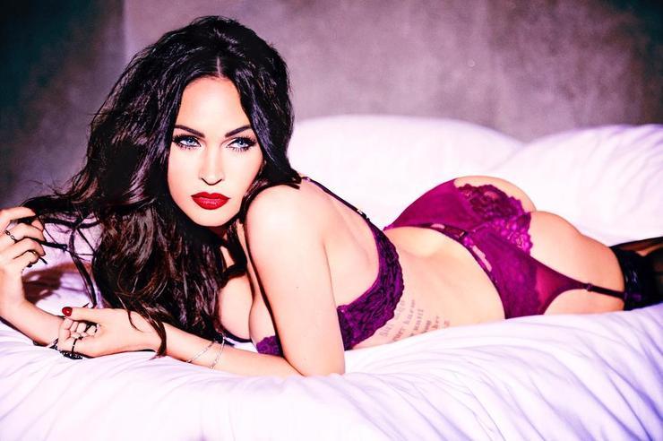 Меган Фокс снялась всоблазнительной рекламной кампании нижнего белья