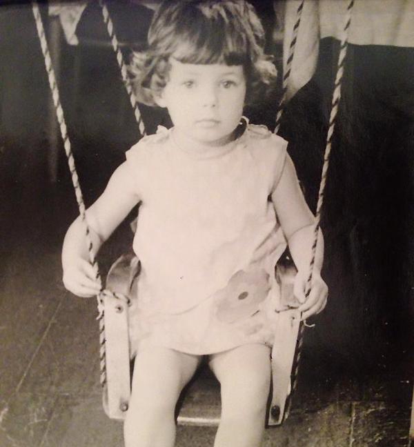 Лора Резникова в детстве