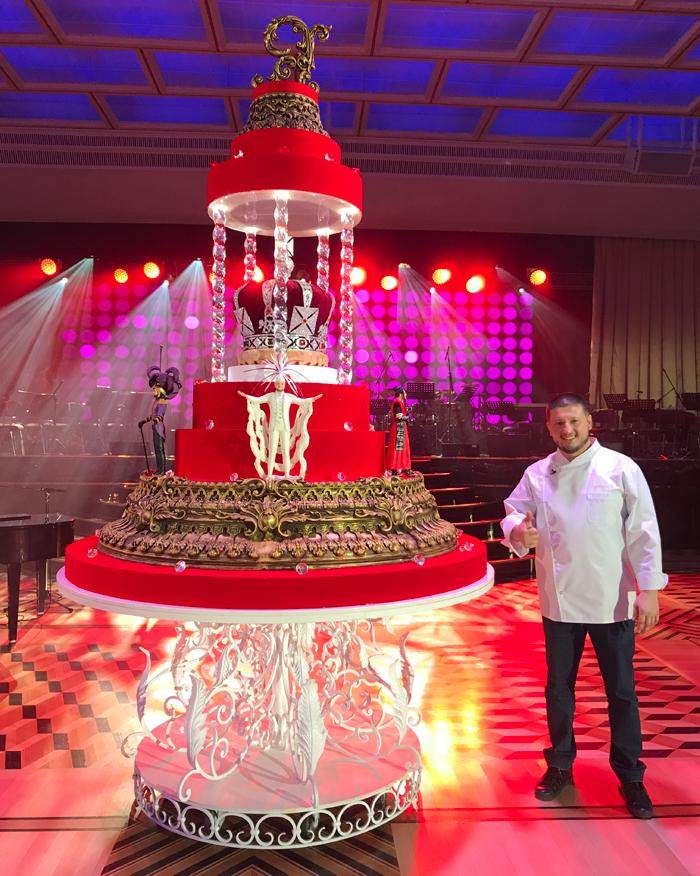 Торт для юбилея Филиппа Киркорова