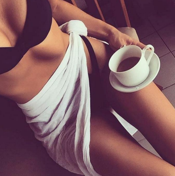 Итальянки с удовольствием используют для стройности кофейный скраб