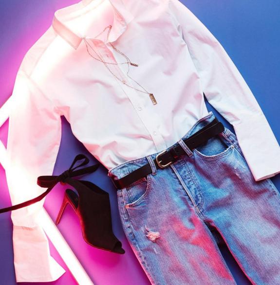 Універсальний варіант - з джинсами
