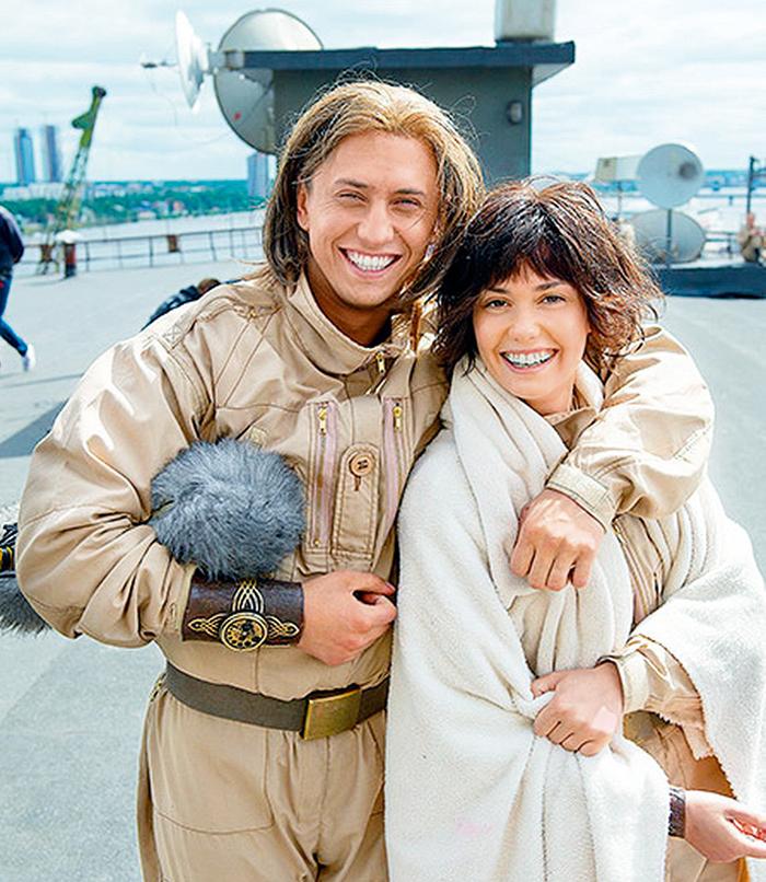 В сериале «Квест» супруги тоже исполнили главные роли. Съемки проходили в Риге, на родине актрисы