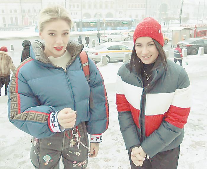 Настя Ивлеева и Ида Галич