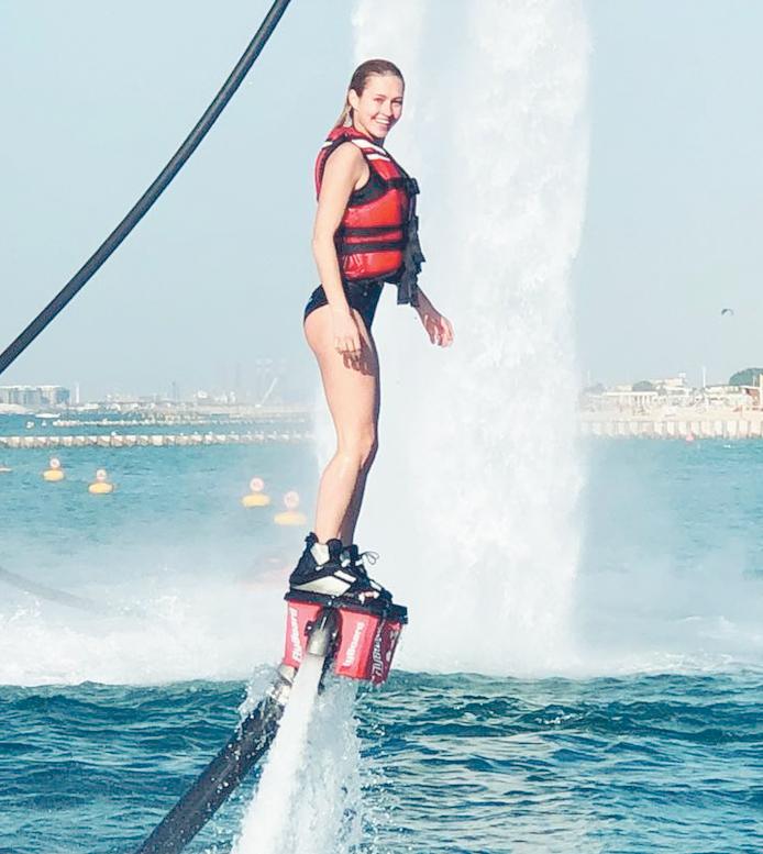 Иева старается вести максимально активный образ жизни. С детства она занимается танцами любит плавание а в последнее время увлеклась кон