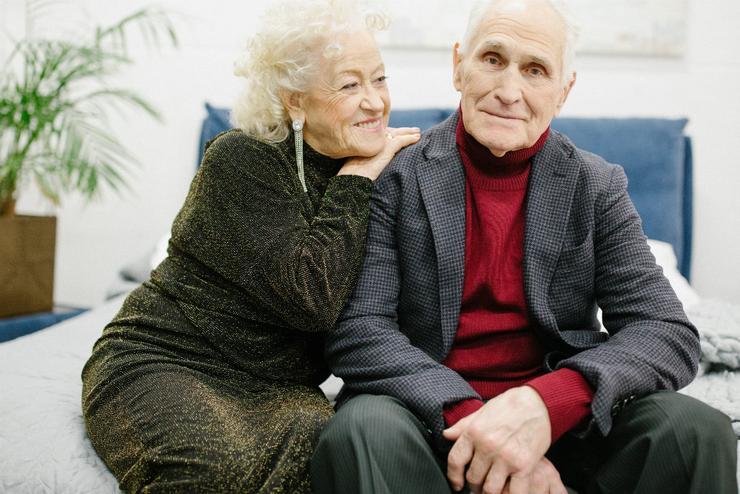 Преклонный возраст не помеха для любви