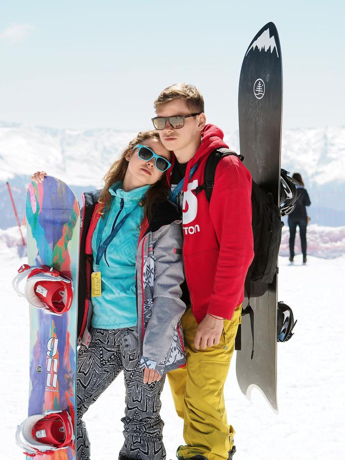 Игорь увлекается сноубордом и предложение любимой тоже сделал в горах