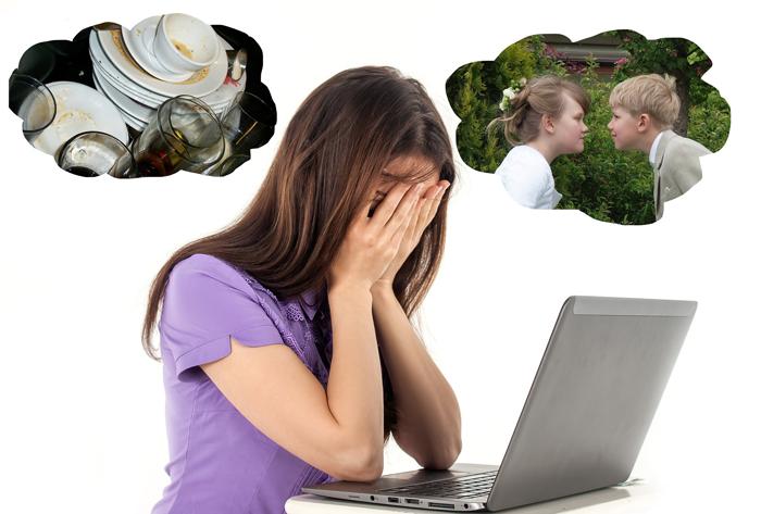 У работающей женщины часто не остается сил и времени на домашние хлопоты