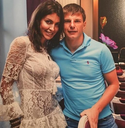 Единственная пока официальная супруга Андрея Аршавина Алиса