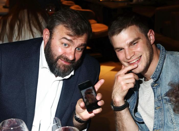 Михаил Пореченков показал бородатого сына