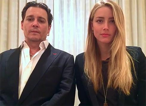 Джонни Депп и Эмбер Херд со скандалом развелись в январе 2017 года