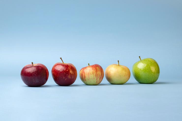 Не заменяйте яблоками все фрукты и овощи