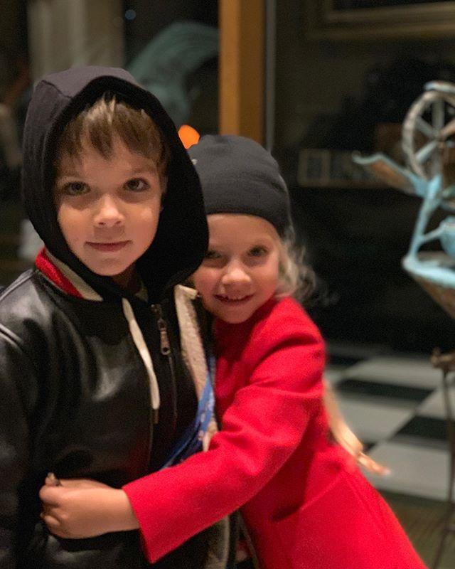 Гарри и Лиза растут творческими детьми