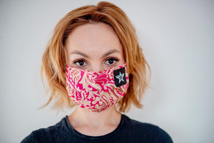 Маша Цигаль выпустила лимитированную коллекцию многоразовых масок