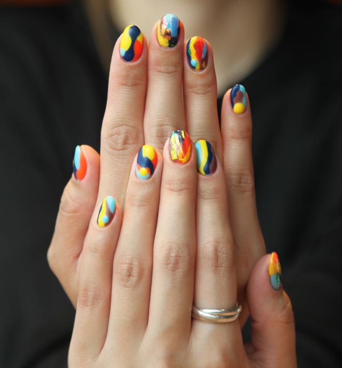 Превращайте ногти в миниатюрные полотна импрессионистов