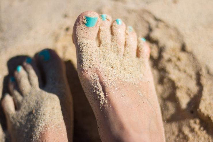Идеальные стопы: избавляемся от сухости на ногах