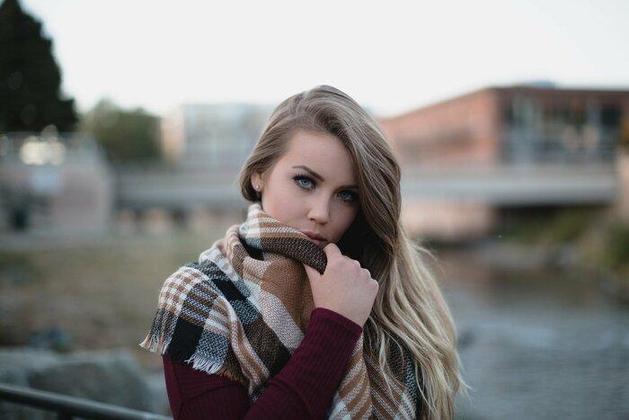платки и шарфы спасают в любой сезон
