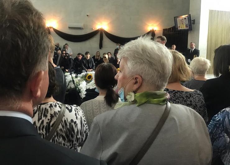 Церемония прощания с Валентиной Легкоступовой