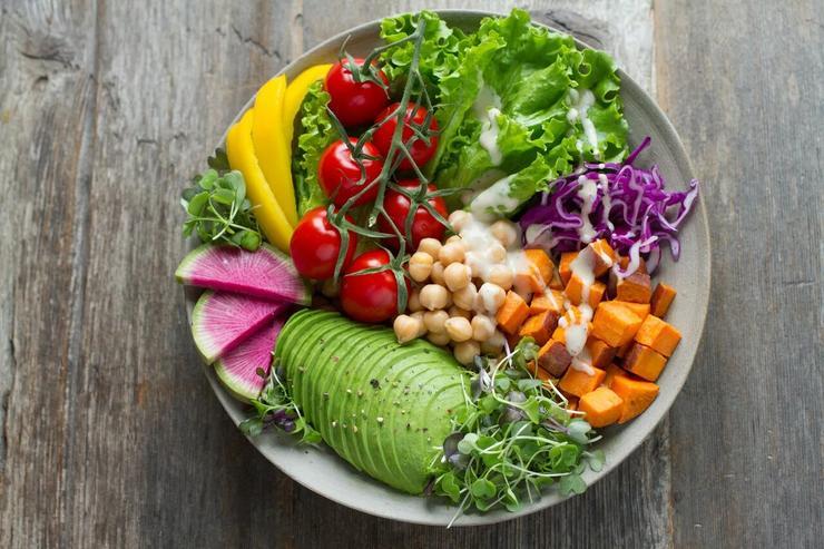 Овощи - прекрасная база для легкого ужина
