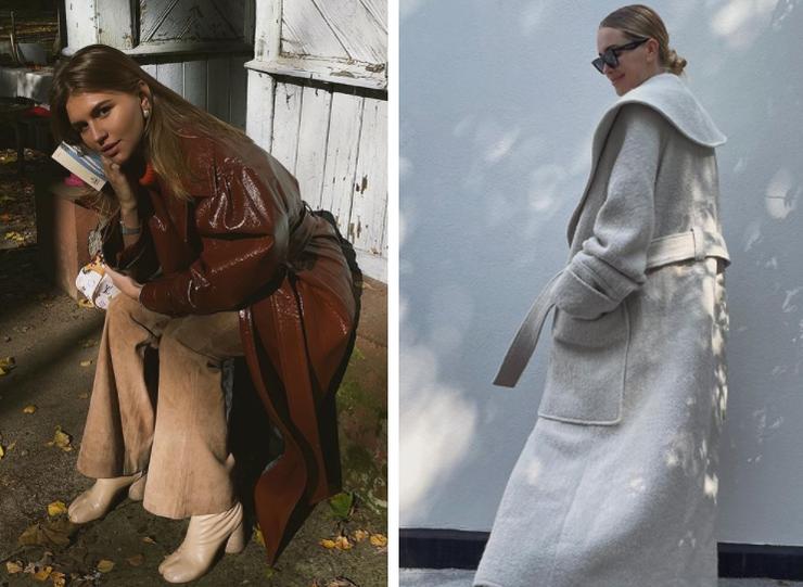 Осень−2021: 5 самых модных пальто