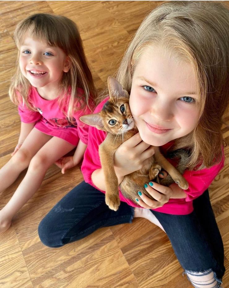 Актриса часто берет детей на съемочную площадку