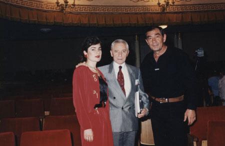 Борис Праздников и Юрий Григорович