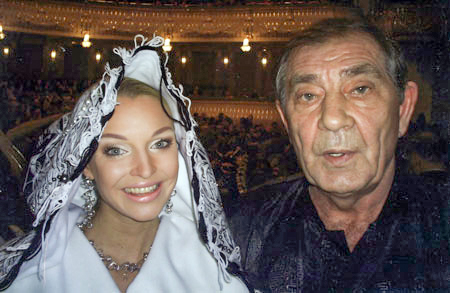 Борис Праздников и Анастасия Волочкова