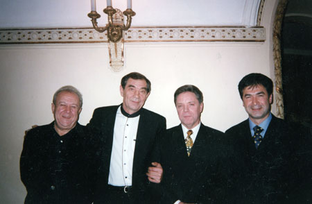 Борис Праздников и Зураб Церители, Борис Громов, Анзор Арсентьев-Кикалишвили