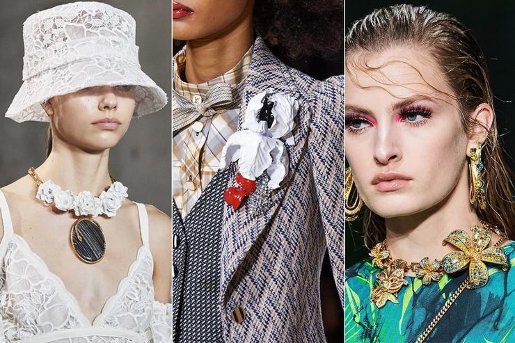 Giambattista Valli/ Louis Vuitton/ Versace/ Elie Saab