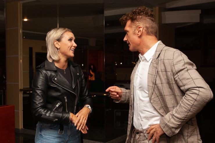 Ксана и Илья Батурин на премьере нового сезона «Танго Театр»