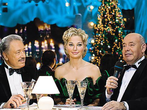 Новый год на канале россия к