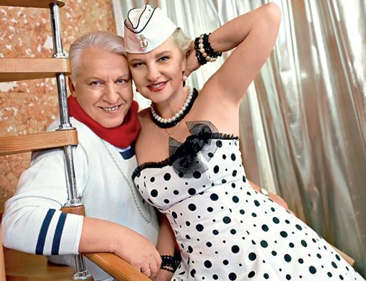 фото александр морозов с женой