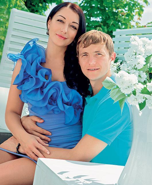 роман павлюченко фото с женой