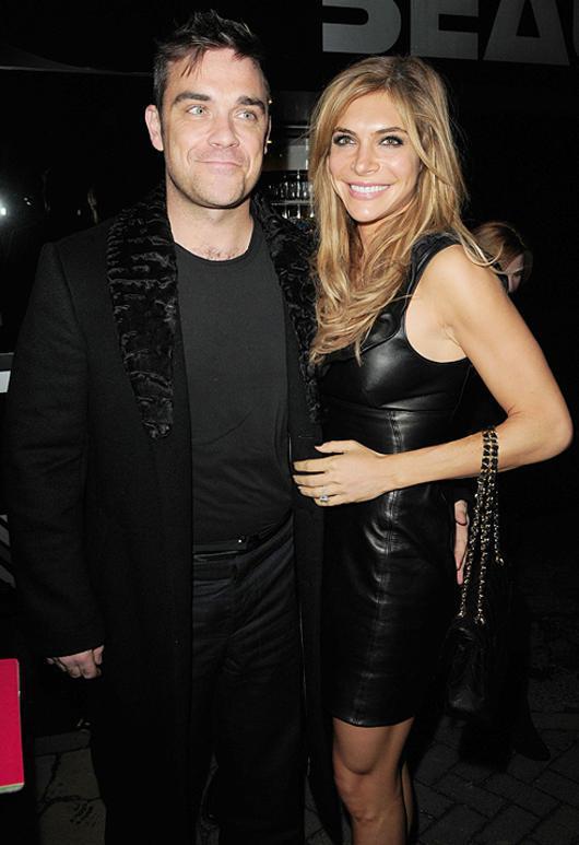 фото робби уильямс с женой