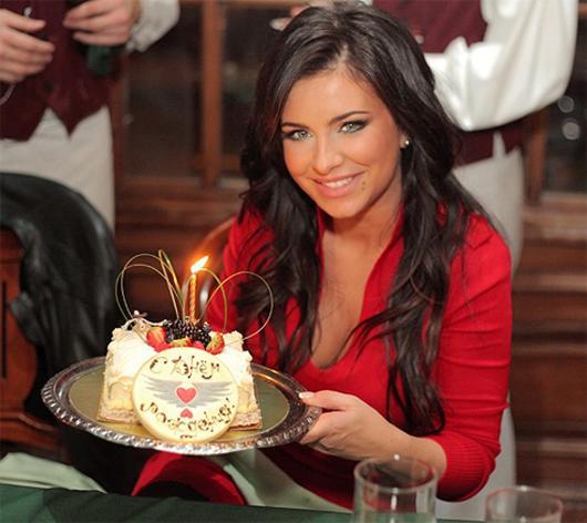 Поздравление от певицы на день рождения