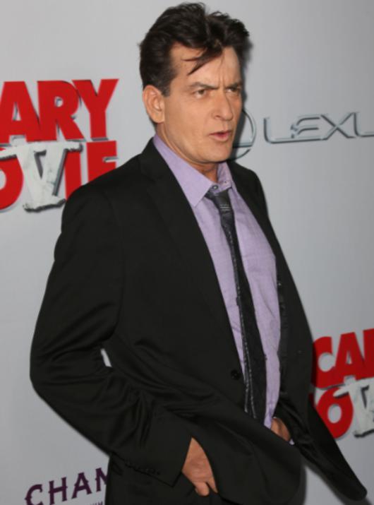 Чарли Шин ответил на обвинение в изнасиловании актера Кори Хэйма