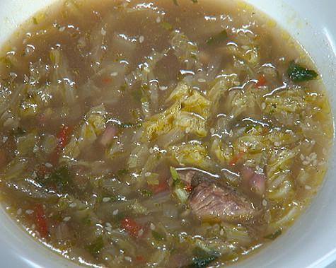 Суп с рисом и бараниной «Мцыри». Фото: материалы пресс-служб.