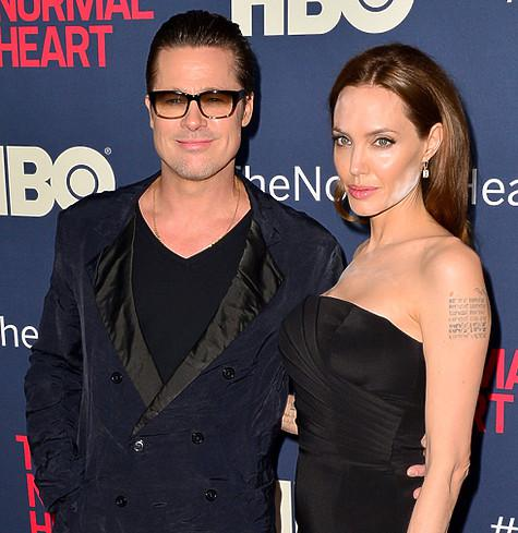 Брэд Питт и Анджелина Джоли. Фото: Rex Features/Fotodom.ru.
