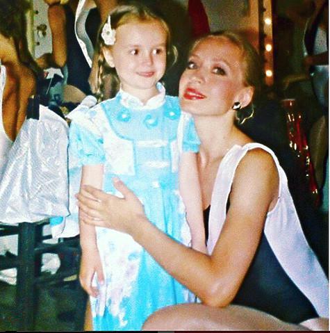 Маленькая Поля с мамой. Фото: социальные сети