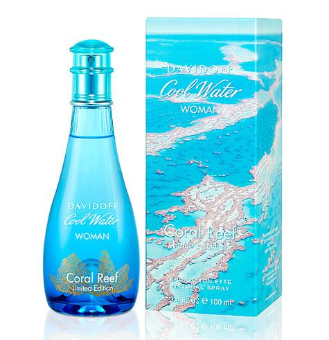 Davidoff Cool Water Woman Coral Reef Limited Edition. Фото: материалы пресс-служб.