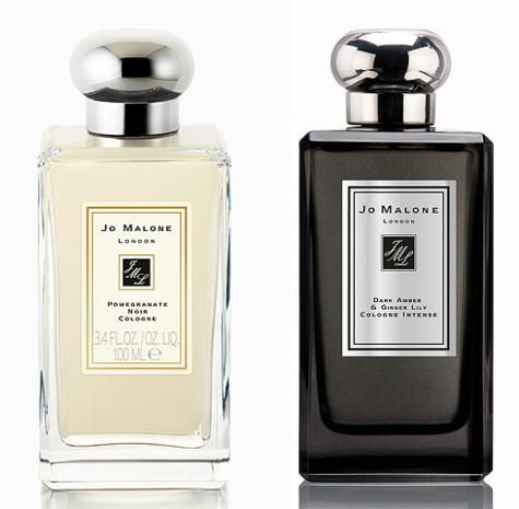 Pomegranate Noir Cologne и Dark Amber&Ginger Lily Cologne Intense от Jo Malone. Фото: материалы пресс-служб.