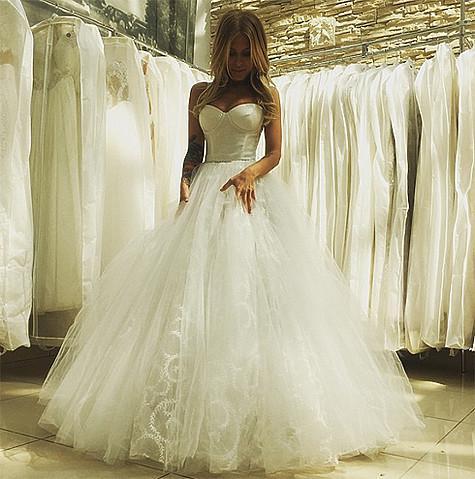 Свадебные платья в инстаграмме