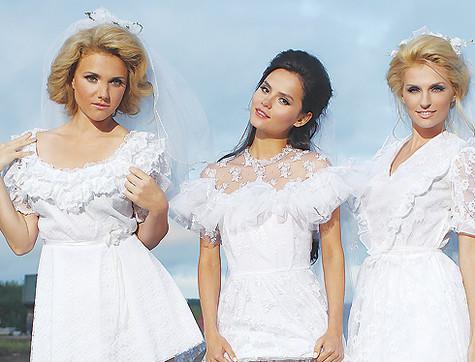 Группа фабрика платье