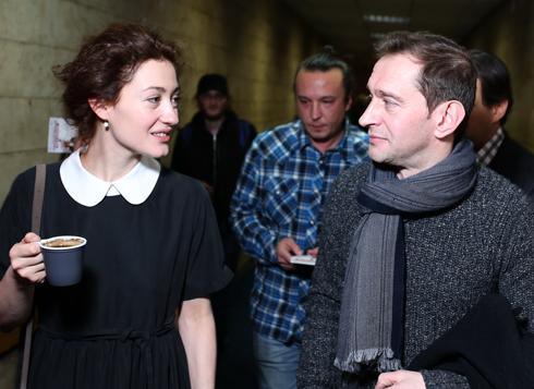 Мириам Сехон и Константин Хабенский