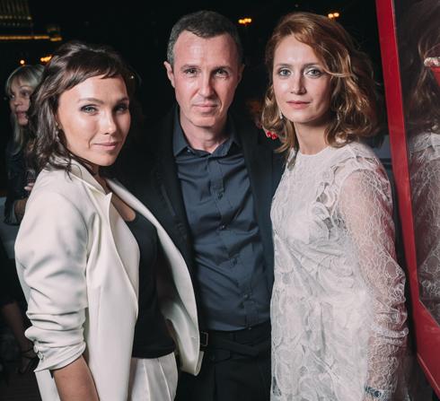 Дарья Екамасова, Игорь Верник и Виктория Исакова