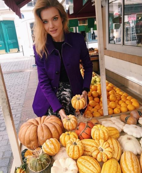 Наталья Водянова готовится кХэллоуину