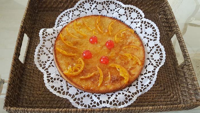 Лимонный пирог накокосовом масле