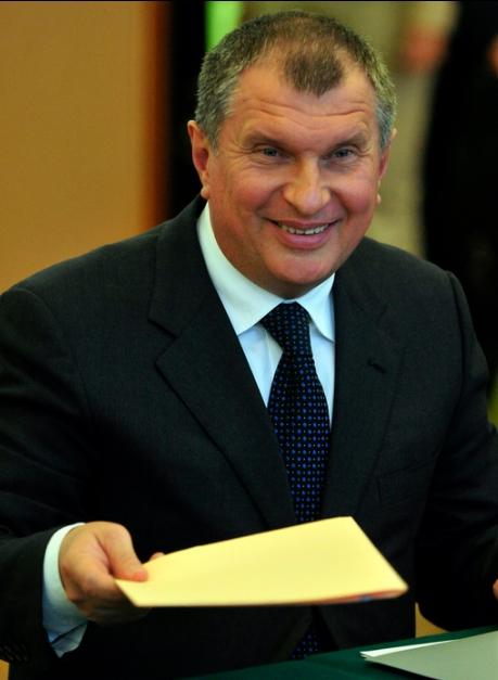 Распался второй брак главы «Роснефти» Игоря Сечина
